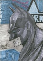 batman sketch 002 by oluklu