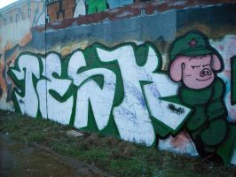 Tesk and PIG dbz by dadouX