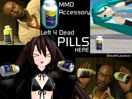 MMD Accessory - L4D Pills by StealthLazarusOfNod