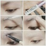 Cosplay makeup Tutorial : How to cover eyebrows by yuegene