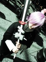 Crona and Ragnarok Cosplay by RhymeLawliet