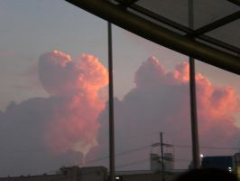 Cotton Candy Clouds by clydine