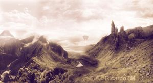 Photomanipulation - The Valley by ShadowMaster29