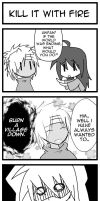 4koma- Kill it with Fire by ItaLuv