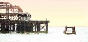 Derelict - West Pier by Toby-1-kenobi