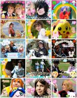 Cosplays 2007 to 2009 by piratesora