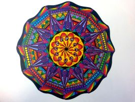 Mandala - Sharpie to the core by Sputnik58