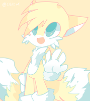 Color Palette: Miles Tails Prower by Kuranikku