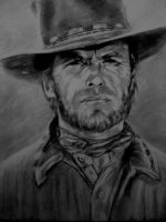 Clint Eastwood by Lois-Scarlet