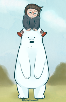 Ice Bear + Chole by Shellsweet