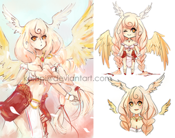 Golden Valkyrie Adopt Auction [closed] by Kaiapi