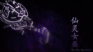 Wicked Lulu Wallpaper by kyoar
