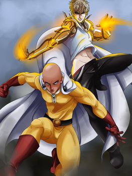One Punch Man by thekingofqueens25