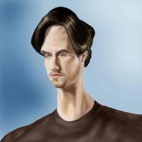 Heroes Caricature-Petrelli by jonesmac2006