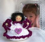 Crochet Angel With A Message by VictoriasCreations