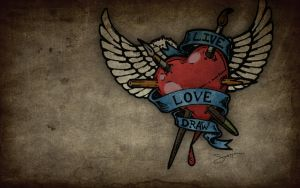 Live Love Draw by hassified