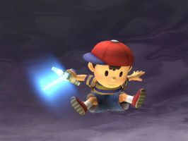 Ness Wants To Be a Jedi by TheTweedleTwins