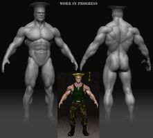 Guile wip body 2 by gabe687