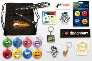 dA Addict Pack by deviantWEAR