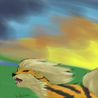 Arcanine by umbreon17