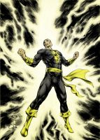 Black Adam Shazam Color Final by RyceodMatrix