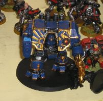 Thousand Sons - Dreadnought by ElCasiegno