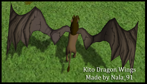 Kito Dragon Wings by Nala91