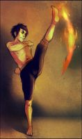 Zuko fire by andrahilde