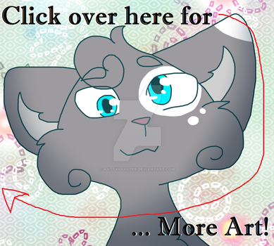 Click over here! by KattyKrafter
