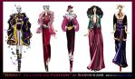 Disney villains go fashion I by Sashiiko-Anti