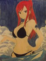 Erza Swimsuit by FlyingLion76