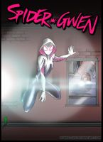 Spider Gwen by Huang-Jun