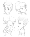 jimmy neutron sketches by Rainmaker113
