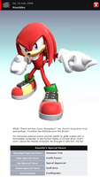 Fake SSBB Profile 3: Knuckles by shadow0knight