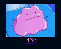 Ditto is Pink!!! by Wootzie14