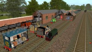 Welcoming a new member to the Skarloey Railway by Sergeant-Sunflower
