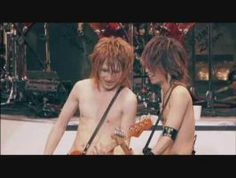 Hiroto and Saga: shirtless XD by Visual-KeiRainbows