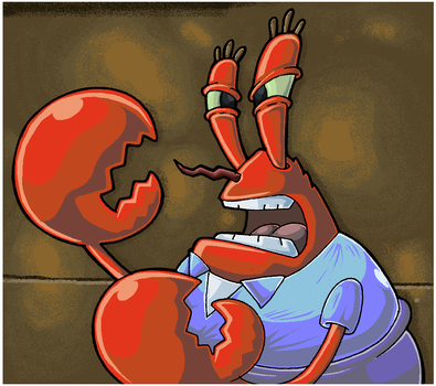SpongeBob. Mr Krabs And His Claws. by Virus-20