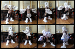 Snowy Owl Partial Fursuit by CuriousCreatures