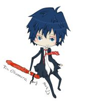 Ao no Exorcist - Rin2 by muk27