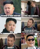 North Korea lol by TakaTheCat