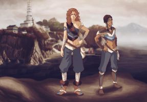 Azara and Kihana by kihanas-spirit