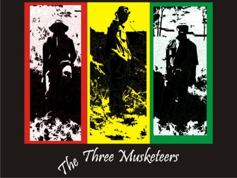 The Three Musketeers by KANErain