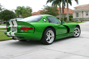 dodge viper green by Green-d