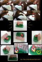 My Angry Birds sofa - process! by nay-only