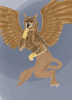 Owl Griffin Adopt -Sold- by Beagon