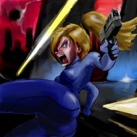 Samus Besieged by Aquemenes1983