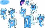 Trixie, sketches by CandyGirl9
