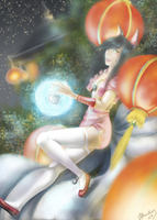 LoL Contest Entry - Ahri by waterpieces