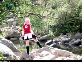 Sakura Haruno_A new way- by CherrieSakura